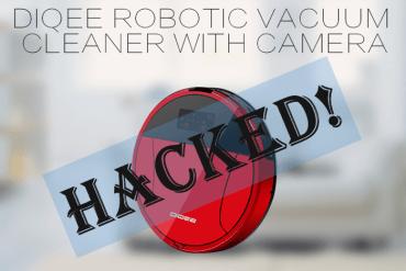 Robotic Vacuum Cleaner Hacked
