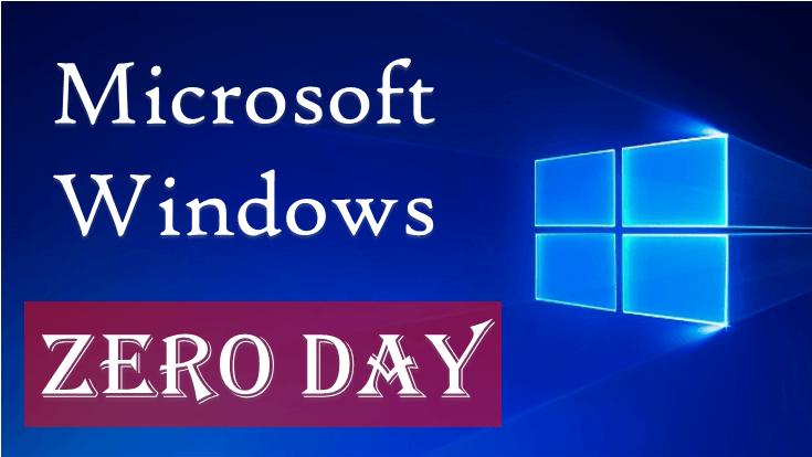 Microsoft Windows Zero Day