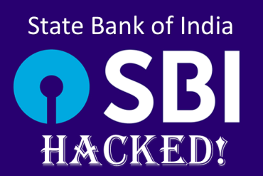 State Bank of India SBI Hacked - Customers Account Data