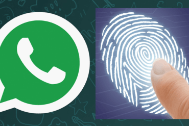 WhatsApp Fingerprint Authentication