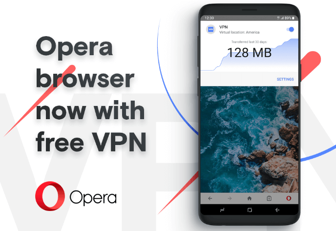 Opera Browser Free VPN