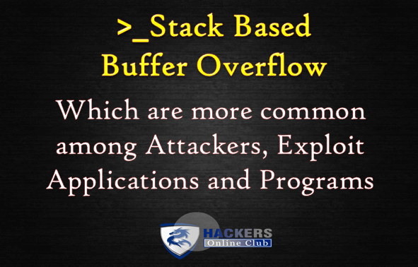 Stack Based Buffer Overflow