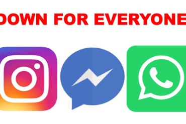 FB WhatsApp and Instagram Down