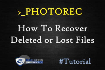 Recover Deleted or Lost Files