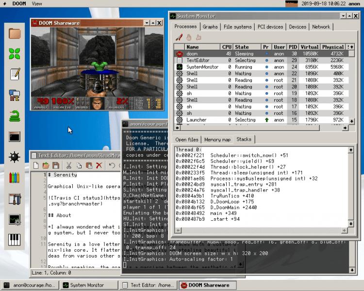 Serenity OS Screenshot