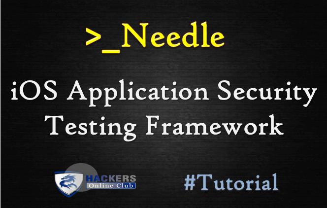 Needle iOS Application Security Framework