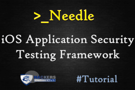 Needle iOS Application Security Framework