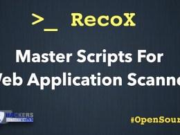 RecoX Web Application Reconnaissance