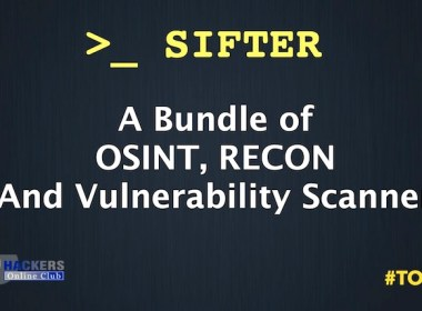 SIFTER Penetration Testing Suite