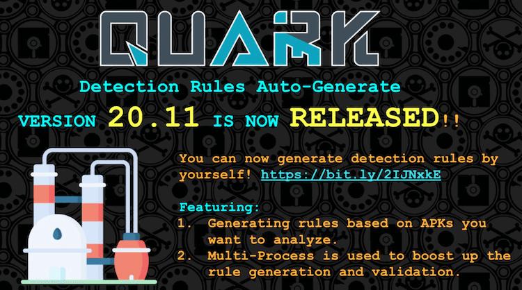 Quark 20.11 version