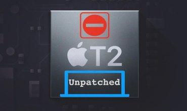 Apple T2 Unpatch