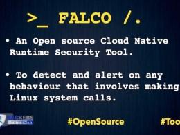 Falco Cloud Security