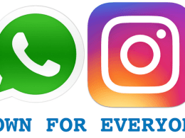 WhatsApp and Instagram Down