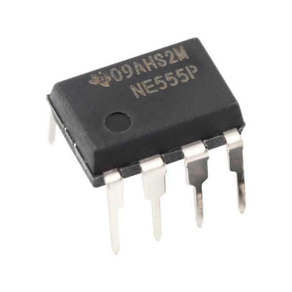 Photograph of the NE555 Timer IC