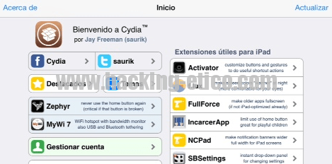 Cydia - iOS Hack
