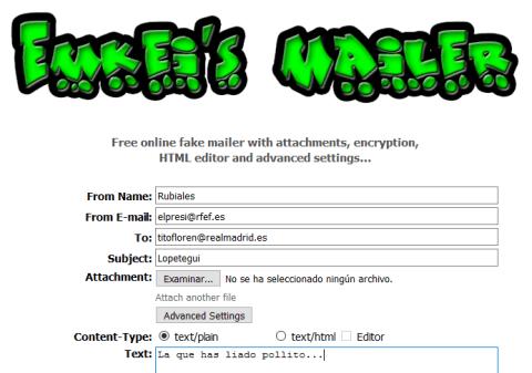 Phishing - Fake Mailer - Emkei