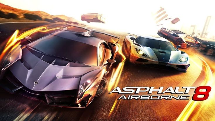 Asphalt 8 Airborne (Offline games free for Android)