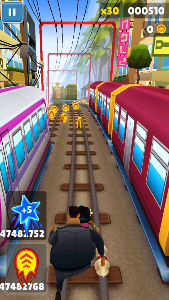 ScreenShot of Subway Surfers Seoul Apk