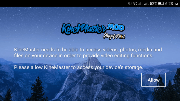ScreenShot KineMaster Diamond Apk