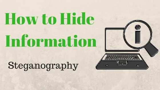What is Steganography and How to do Steganography Examples