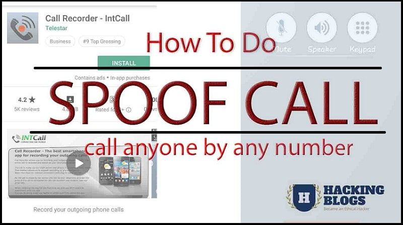 Hack Anyone's Mobile Number To Call Anyone | Spoof Call