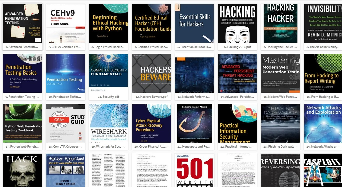 Top 100 Free Hacking Books Pdf Collection 2018 Hackingvision