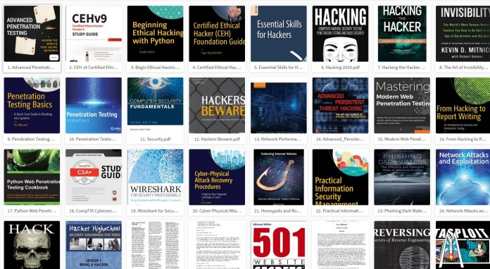 hacking books pdf