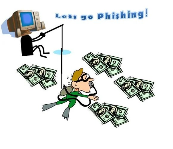Phishing passwords