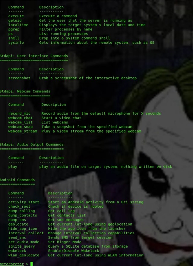 Android hacking with sploitgen with no port forwarding - HackingVision