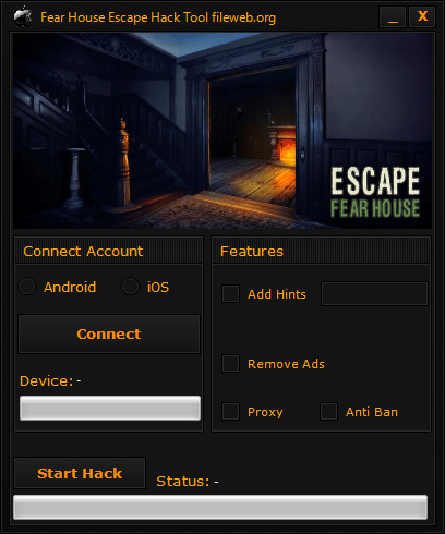 Escape Fear House Hack Download (Android/iOS)