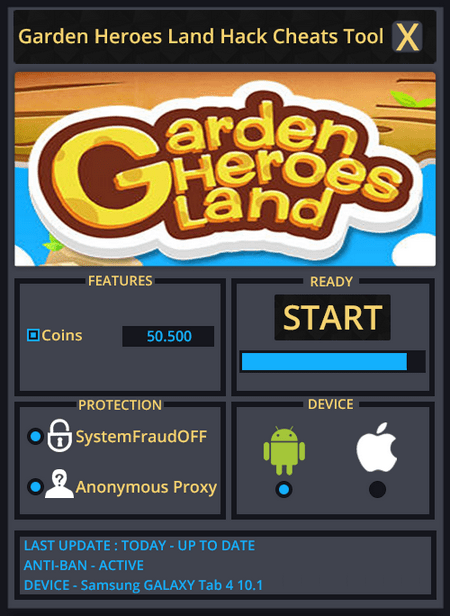 Garden Heroes Land Hack Download (Android/iOS)