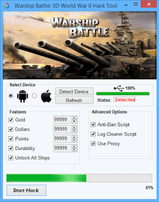 WARSHIP BATTLE 3D World War II Hack