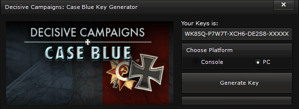 decisive campaigns case blue key generator free activation code 2015 Decisive Campaigns Case Blue Key Generator – FREE Activation Code 2015