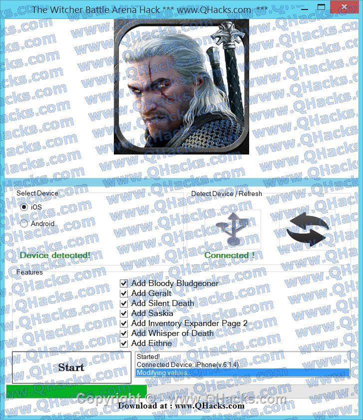 The Witcher Battle Arena hacks