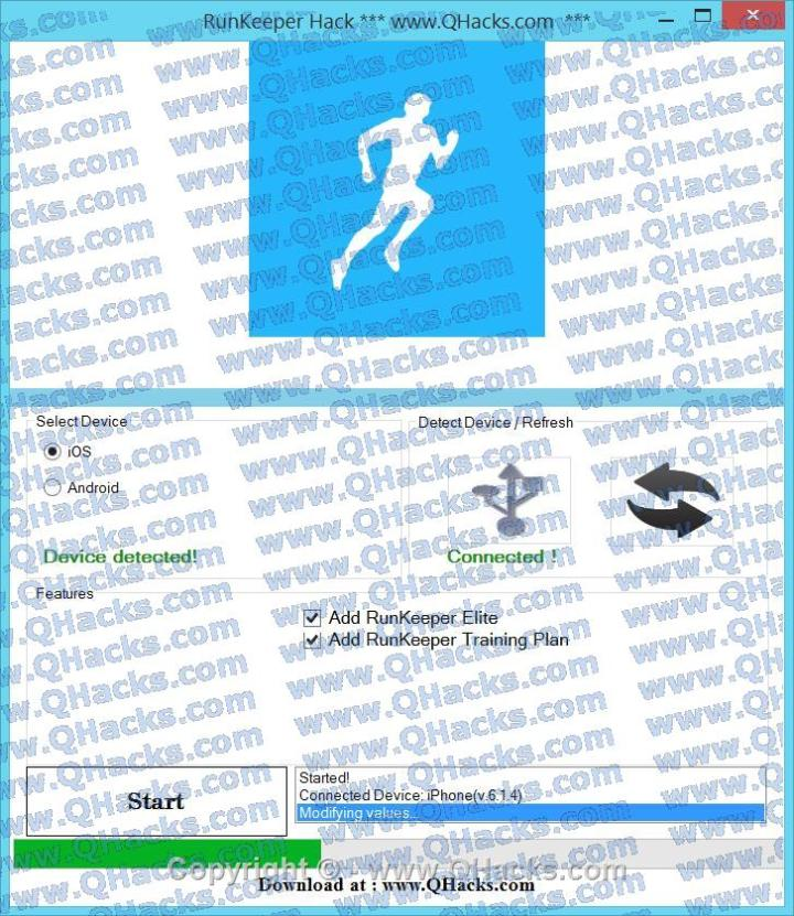 RunKeeper hacks