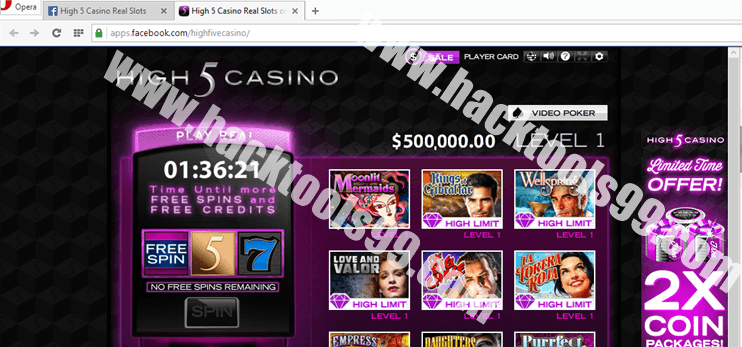 High 5 Casino Real Slots Hack Working Proof