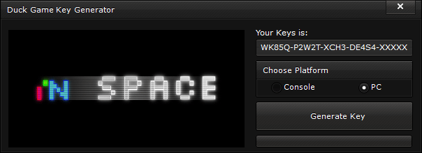 in space key generator free activation code 2015 in Space Key Generator – FREE Activation Code 2015