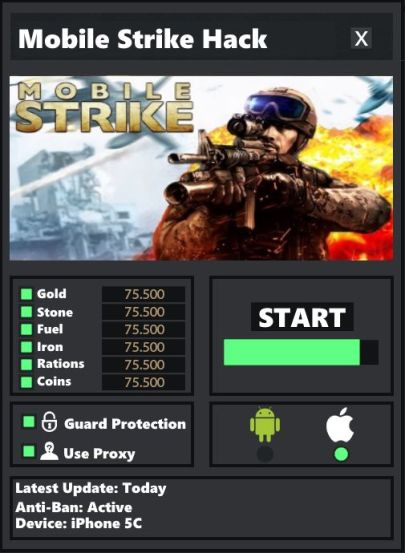 Mobile Strike Hack Tool Download Now Free Android & iOS UPDATED
