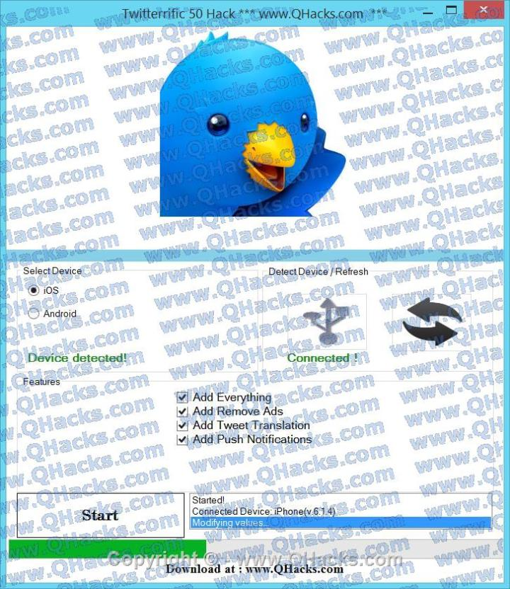 Twitterrific 50 Hack Cheats & Tricks