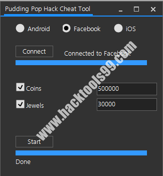 Pudding Pop Cheat Tool