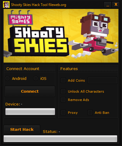 Shooty Skies Hack Download (Android/iOS)