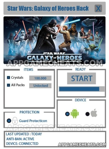 Star Wars Galaxy of Heroes Hack