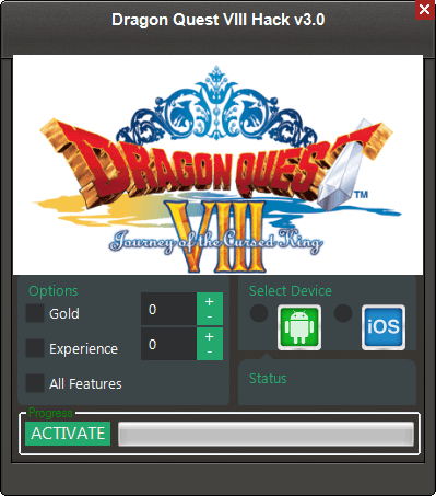 dragon quest viii hack v3 0 androidios Dragon Quest VIII Hack v3.0 (Android/iOS)
