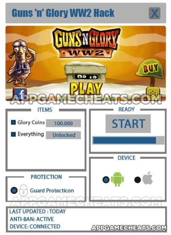 Guns'n'Glory WW2 Hack