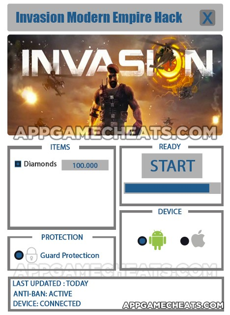 Invasion: Modern Empire Hack