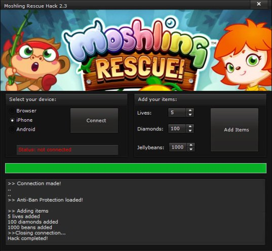 moshling rescue hack v2 3 androidiosbrowser Moshling Rescue Hack v2.3 (Android/iOS/Browser)