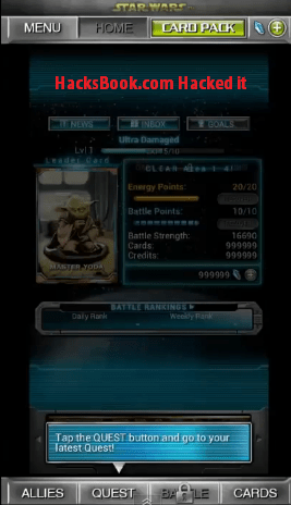 star wars force collection hack androidios 20141 Star Wars Force Collection Hack (Android/iOS) 2014