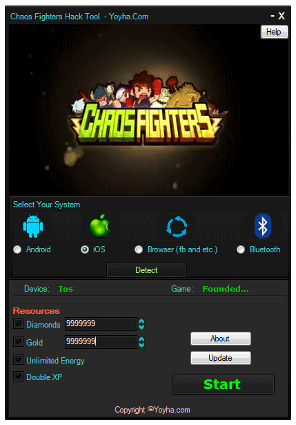 Chaos Fighters Hack Tool