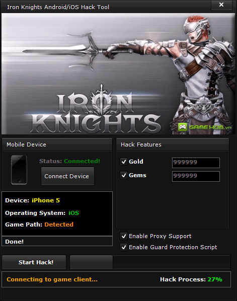 Iron Knights Hack (Android/iOS)