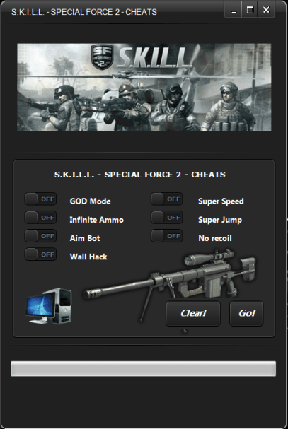 SKILL Special Force 2 Hack